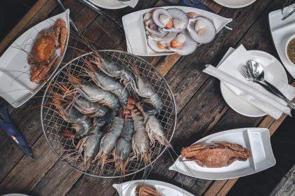 Закуски з морепродуктами в ресторанах Києва