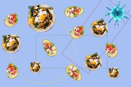 Заразитись COVID-19 через їжу малоймовірно, навіть якщо кухар чхає та кашляє — вчені