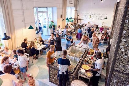 В Україні відкрили «перший онлайн-ресторан»