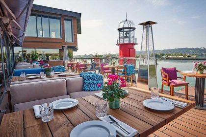 Ресторани, які відкрили літні тераси: столичні локації на воді