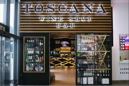 Італійські вина за розумними цінами в новому Toscana Wine Bar у ТЦ Retroville на Виноградарі
