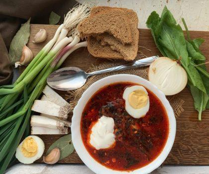 Український борщ потрапив у двадцятку кращих супів світу за версією CNN