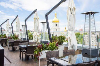 Літні тераси Києва з мальовничим краєвидом: 6 локацій від PostEat